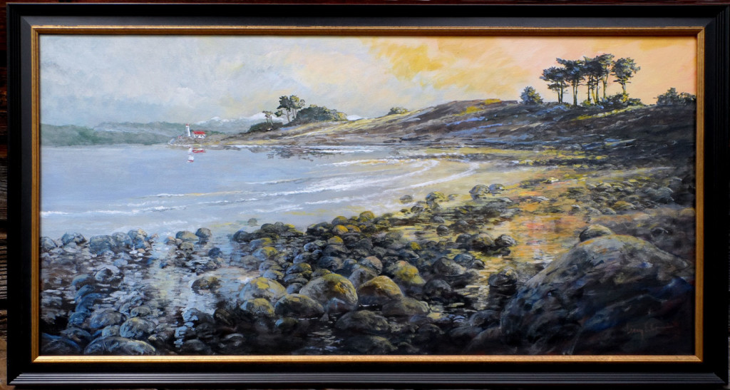 "Point Wilson Light - Port Townsend 24"" x 48"" - available as of August 8, 2015"