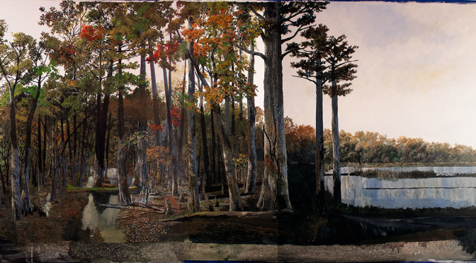 Progress Report on Reelfoot National Wildlife Refuge mural